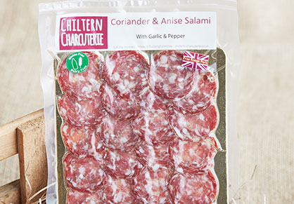 Chiltern Charcuterie Coriander and Anise Salami